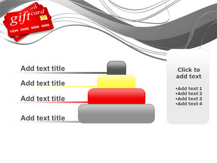 Gift Card PowerPoint Template Slide 8