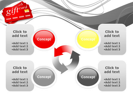 Gift Card PowerPoint Template Slide 9