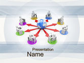 Education & Training: Distance Learning PowerPoint Template #10642