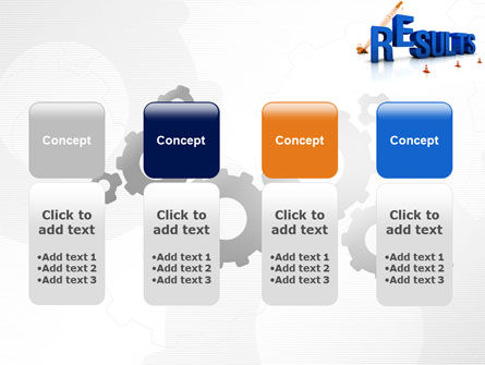 Building Results PowerPoint Template Slide 5