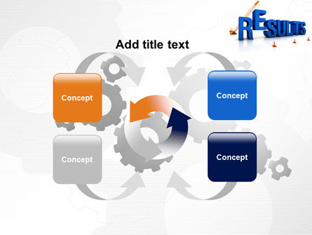 Building Results PowerPoint Template Slide 6