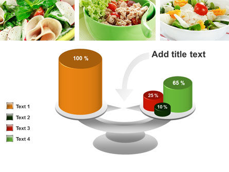 Salad Recipes PowerPoint Template Slide 10
