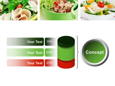 Salad Recipes PowerPoint Template Slide 11