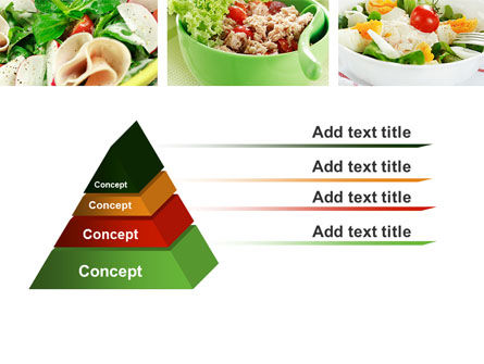 Salad Recipes PowerPoint Template Slide 12