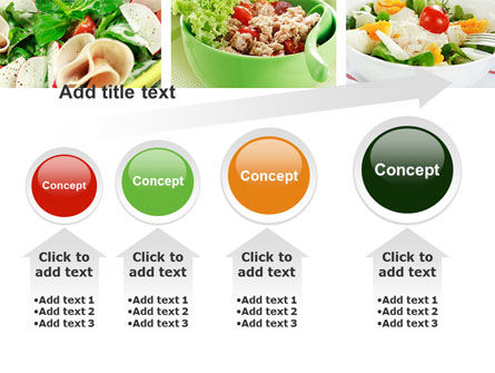 Salad Recipes PowerPoint Template Slide 13