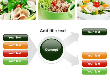 Salad Recipes PowerPoint Template Slide 14