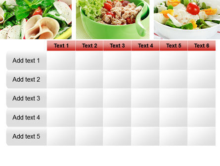 Salad Recipes PowerPoint Template Slide 15
