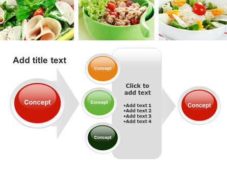 Salad Recipes PowerPoint Template Slide 17
