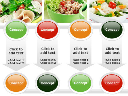 Salad Recipes PowerPoint Template Slide 18