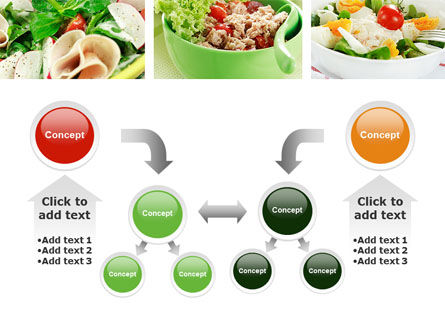 Salad Recipes PowerPoint Template Slide 19