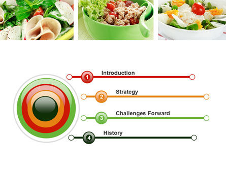 Salad Recipes PowerPoint Template Slide 3