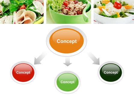 Salad Recipes PowerPoint Template Slide 4