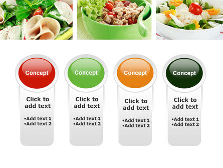 Salad Recipes PowerPoint Template Slide 5