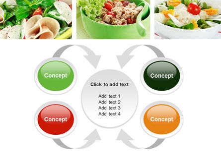 Salad Recipes PowerPoint Template Slide 6