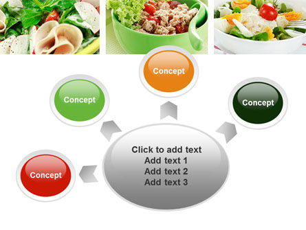 Salad Recipes PowerPoint Template Slide 7