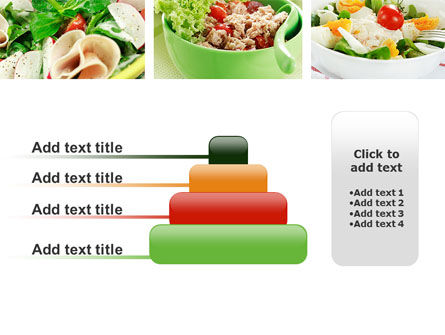 Salad Recipes PowerPoint Template Slide 8