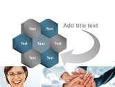 Cohesive Team PowerPoint Template#11