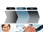 Cohesive Team PowerPoint Template#16