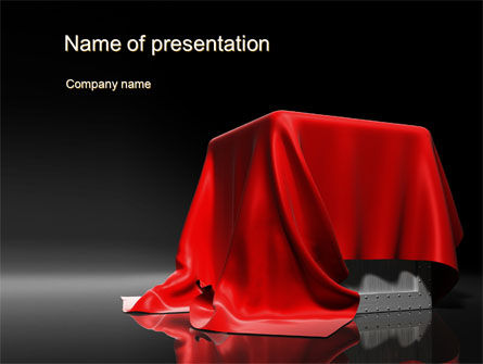 Careers/Industry: Box Covered from Above PowerPoint Template #10651