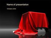 Careers/Industry: Plantilla de PowerPoint - caja cubierta desde arriba #10651