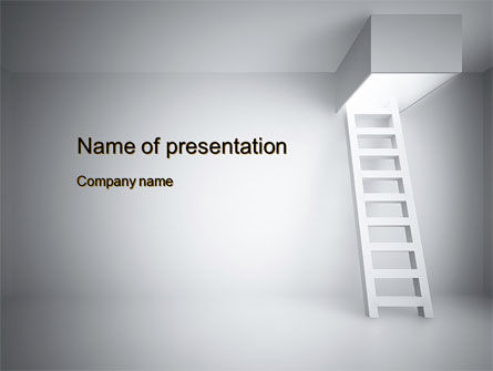 Escape Way PowerPoint Template, 10652, Consulting — PoweredTemplate.com