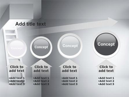 Escape Way PowerPoint Template Slide 13