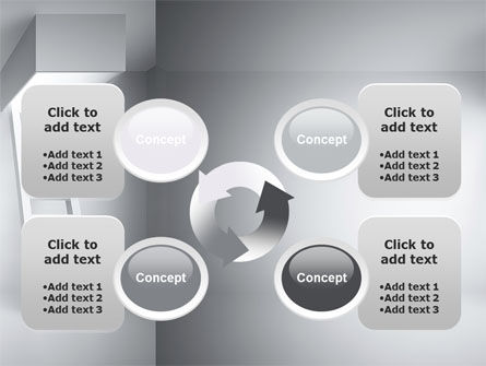Escape Way PowerPoint Template Slide 9