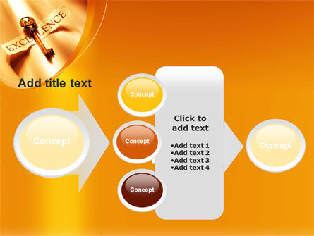 Key to Excellence PowerPoint Template Slide 17