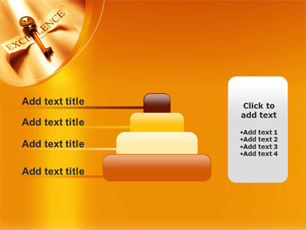 Key to Excellence PowerPoint Template Slide 8