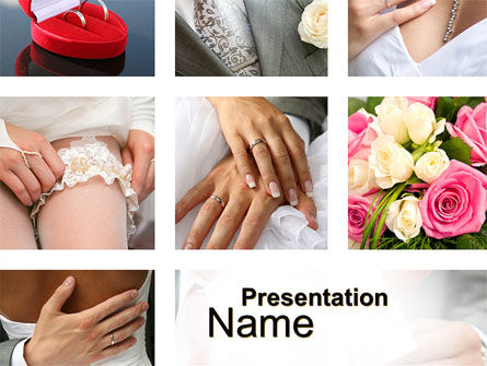 Wedding Det PowerPoint Template, 10655, Holiday/Special Occasion — PoweredTemplate.com