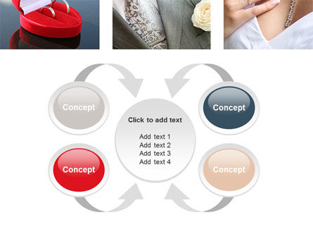 Wedding Det PowerPoint Template Slide 6
