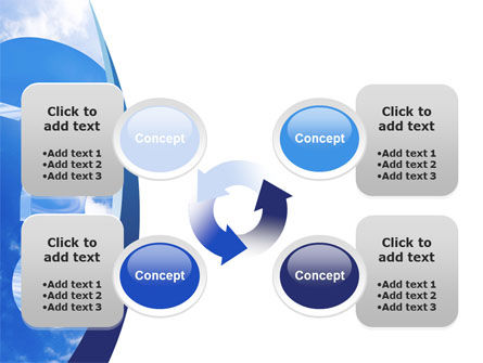 Question in Sky PowerPoint Template Slide 9