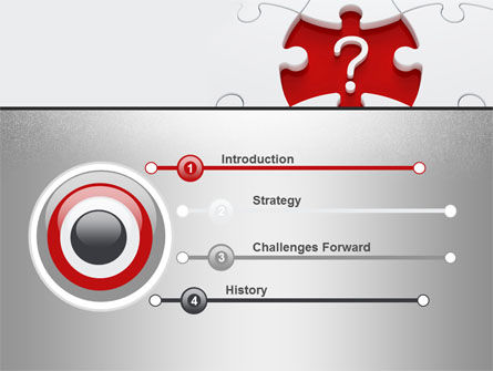 Finding Solution PowerPoint Template, Slide 3, 10658, Consulting — PoweredTemplate.com