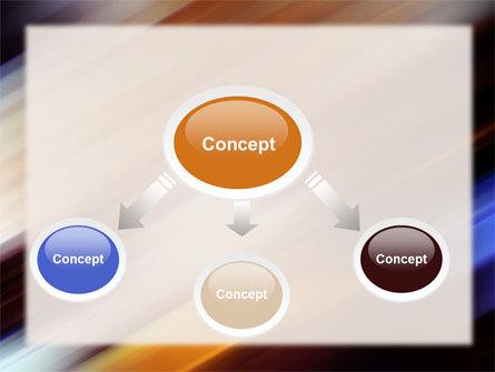 Motion Blur PowerPoint Template, Slide 4, 10660, Abstract/Textures — PoweredTemplate.com