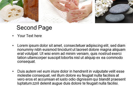 Spa Equipment PowerPoint Template, Slide 2, 10663, Careers/Industry — PoweredTemplate.com