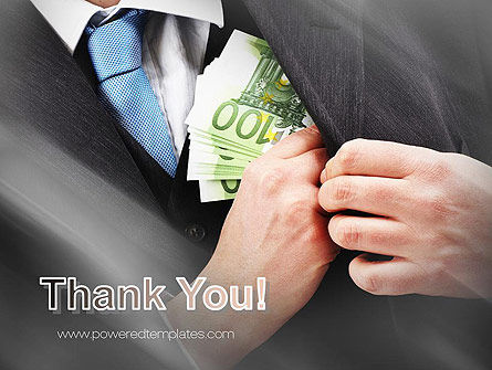 Bribe Money PowerPoint Template Slide 20
