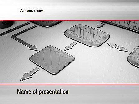 Liquid Flowchart PowerPoint Template