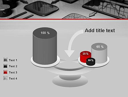 Liquid Flowchart PowerPoint Template Slide 10