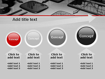 Liquid Flowchart PowerPoint Template Slide 13