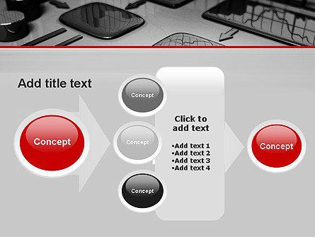 Liquid Flowchart PowerPoint Template Slide 17