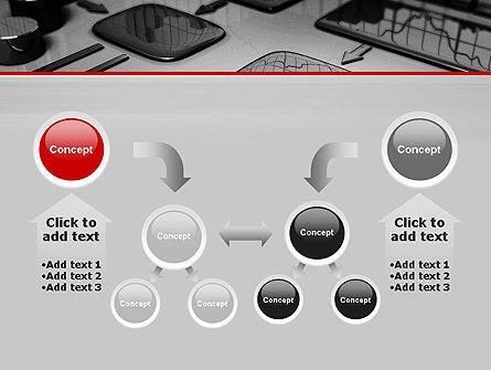 Liquid Flowchart PowerPoint Template Slide 19