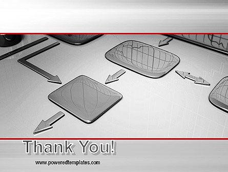 Liquid Flowchart PowerPoint Template Slide 20