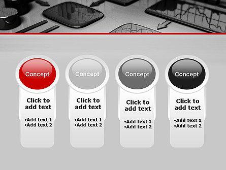 Liquid Flowchart PowerPoint Template Slide 5