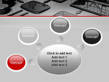 Liquid Flowchart PowerPoint Template Slide 7