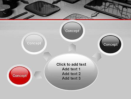 Liquid Flowchart PowerPoint Template Slide 7