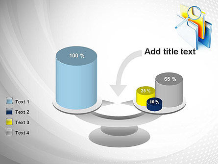 Document Search PowerPoint Template Slide 10