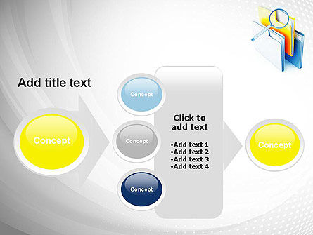 Document Search PowerPoint Template Slide 17