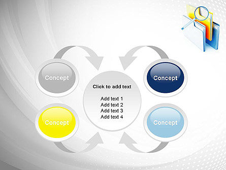 Document Search PowerPoint Template Slide 6