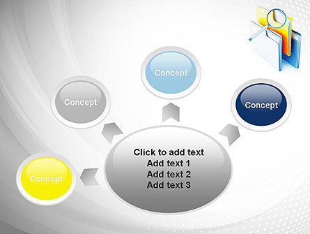 Document Search PowerPoint Template Slide 7