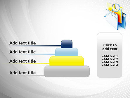 Document Search PowerPoint Template Slide 8